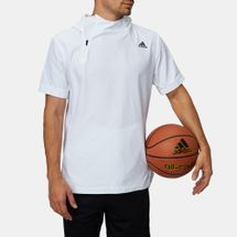 adidas Electric Short Sleeved Basketball Hoodie