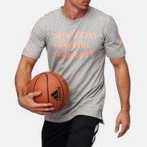 تيشيرت كرة السلة هاردن سلوغان من اديداس