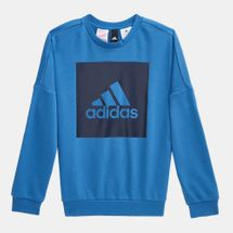 adidas Kids' Big Logo Crew Sweater