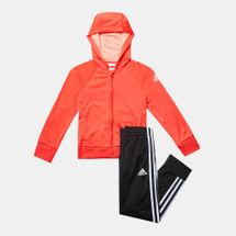 adidas Kids' Little Girls Knitted Tracksuit