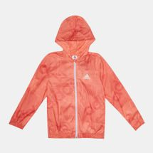adidas Kids' Windbreaker Training Jacket