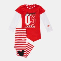 adidas Kids' Disney Mickey Mouse Set