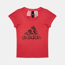 adidas Kids' Essentials Performance Logo T-Shirt