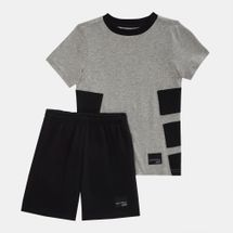 adidas Originals Kids' EQT Shorts and T-Shirt Set