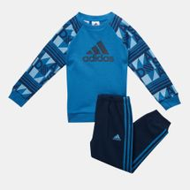 adidas Kid's Terry Style Jogger Set