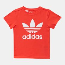adidas Originals Kids' adicolor Trefoil T-Shirt Red