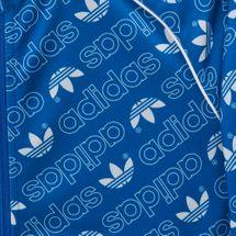 adidas Originals Kids' Trefoil Monogram SST Track Jacket, 1274426