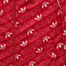 adidas Originals Kids' Trefoil Monogram SST Track Jacket, 1274429