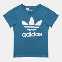 adidas Originals Kids' adicolor Trefoil T-Shirt Blue