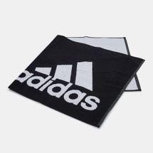 adidas Logo Small Towel - Black, 1646355