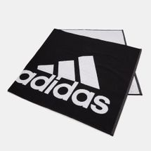 adidas Logo Large Towel - Black, 1715861