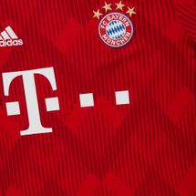 adidas Kids' FC Bayern Home Replica Jersey - 2018/19, 1155555