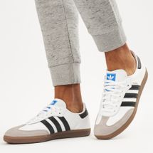adidas Originals Men's Samba OG Shoe White