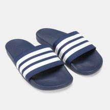 adidas Adilette Cloudfoam Plus Stripes Slides Blue