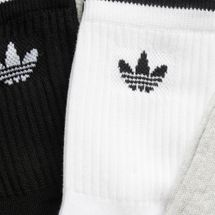 adidas Originals Kids' Trefoil Crew Socks (3 Pairs) (Younger Kids), 1477336