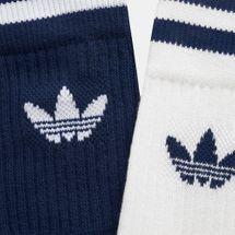 adidas Originals Solid Crew Socks (2 Pairs), 1477345