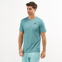 adidas Men's Parley Striped Tennis T-Shirt