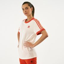 adidas Originals Women's 3-Stripes T-Shirt White