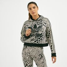 adidas Originals Women's Allover Print Hoodie