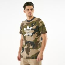 adidas Originals Men's Camouflage Trefoil T-Shirt