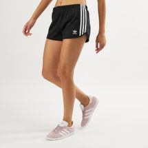adidas Originals Women's 3-Stripes Shorts Black