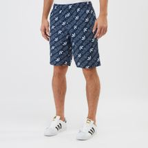 adidas Originals Monogram Swimming Shorts Blue