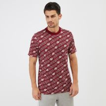 adidas Originals Monogram T-Shirt Red