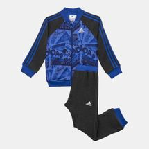 adidas Kids' Basketball French Terry Jogger Set