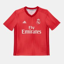 adidas Kids' Real Madrid Third Jersey - 2018/19