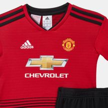 adidas Kids' Manchester United Home Football Mini Kit – 2018, 1212763