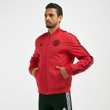 adidas Men's Manchester United FC Anthem Football Jacket