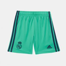 adidas Kids' Real Madrid Third Shorts -2019/20 (Older Kids)