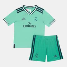 adidas Kids' Real Madrid Third Mini Kit -2019/20 (Younger Kids)