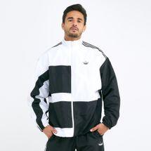 adidas Originals Men's Asymmetrical Track Jacket