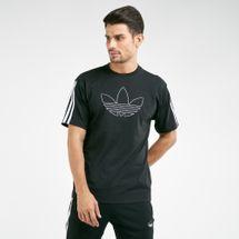 adidas Originals Men's Spirit Pack Outline Trefoil T-Shirt