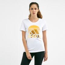 adidas Women's Must Haves Foil T-Shirt