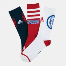 adidas Kids' X Disney Pack Spiderman Crew Socks