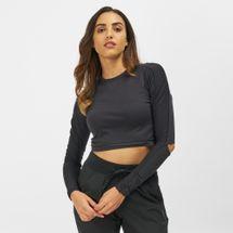 Reebok Long Sleeve Cropped Studio T-Shirt, 1313585