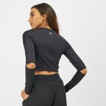 Reebok Long Sleeve Cropped Studio T-Shirt, 1313586
