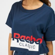 Reebok Classics Disruptive Cropped T-Shirt, 1410804