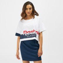 Reebok Classics Disruptive Cropped T-Shirt