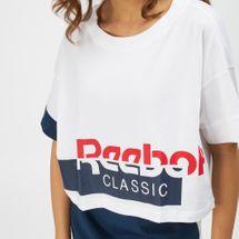 Reebok Classics Disruptive Cropped T-Shirt, 1410780
