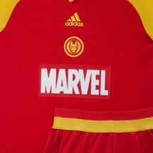 adidas Kids' Marvel Iron Man Football Set, 1200765
