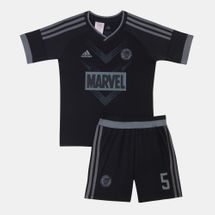 adidas Kids' Marvel Black Panther Football Set