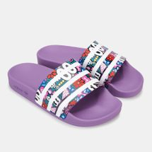 adidas Originals Women's Adilette Hattie Stewart Slides