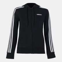 adidas Women's Essentials 3-Stripes Fleece Hoodie