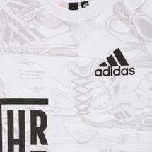 adidas Kids' ID Print T-Shirt, 1357849