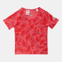 adidas Kids' Cotton T-Shirt Pink