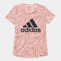 adidas Kids' Badge Of Sport T-Shirt (Little Girls)
