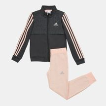 adidas Kids' Comfortable Tracksuit (Little Girls)